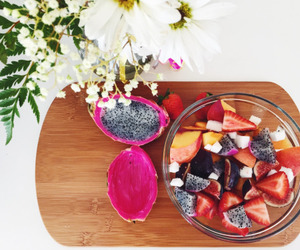 food, clean eating, and fruit image