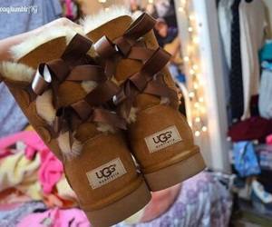boots, fashion, and ugg image