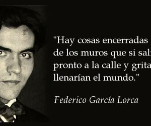 federico garcia lorca, frases, and literatura image