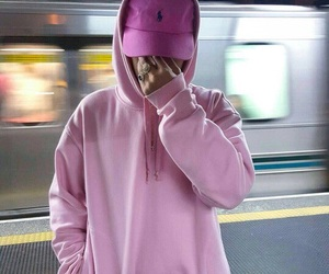 boy and pink image
