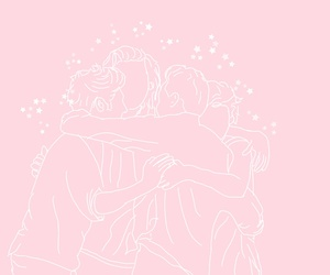 pastel, pink, and 1d image