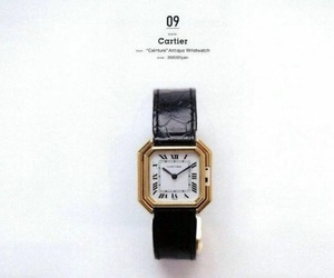 fashion, watch, and cartier image