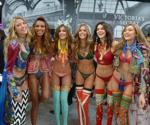 kendall jenner, gigi hadid, and Victoria's Secret image