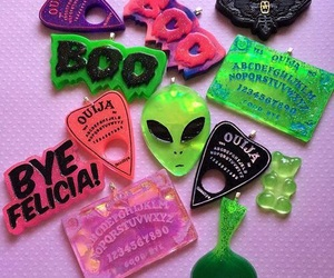 alien, grunge, and ouija image
