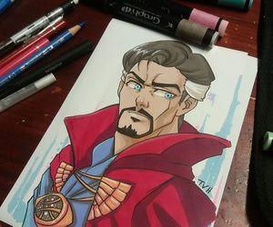 Marvel, doctor strange, and stephen strange image