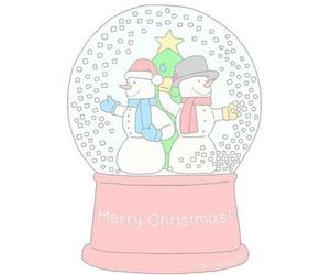 christmas, overlay, and snow image