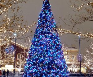 christmas, decorations, and outdoor image