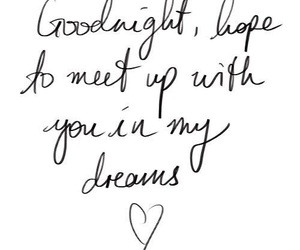 Dream, love, and goodnight image