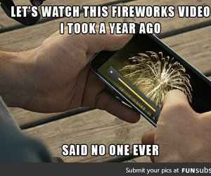 fireworks, space, and funny image