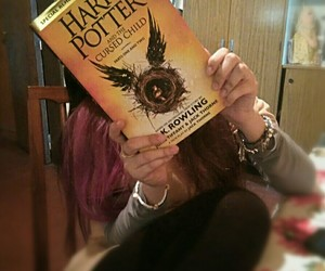 book, harrypotter, and potterhead image