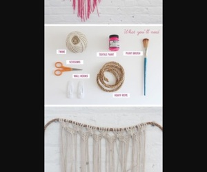 diy, do it yourself, and room decor image