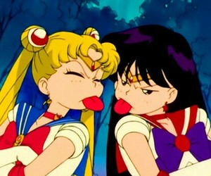 sailor moon, anime, and sailor mars image