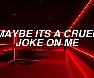 quotes, red, and grunge image