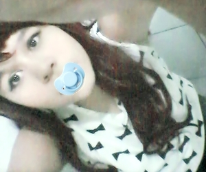 ulzzang, ageplay, and babygirl image