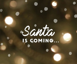 christmas, santa, and background image