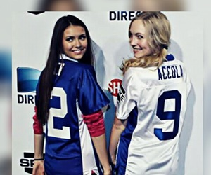 Nina Dobrev and candice accola image
