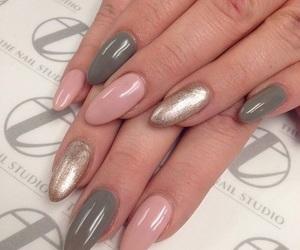 mani, nails, and acrylic image