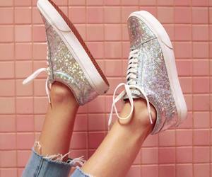 glitter, nasty gal, and shoes image