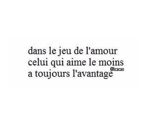 amour, french, and heart image