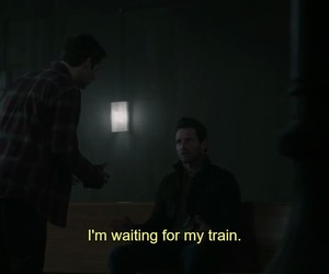 teen wolf, peter, and stiles image