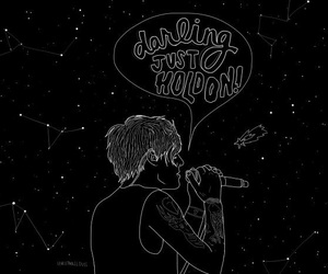 louis tomlinson and just hold on image
