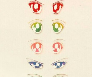 ojos and sailor scouts image