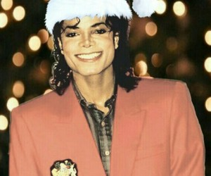 christmas, michael jackson, and king of pop image