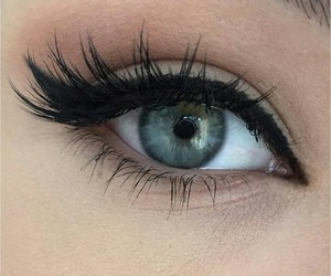 makeup, eyes, and eye image