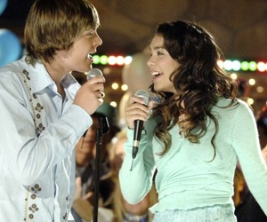 high school musical, vanessa hudgens, and zac efron image