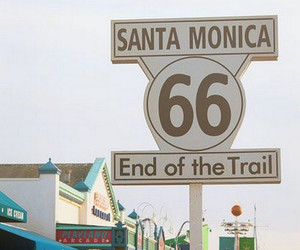 california and santa monica image