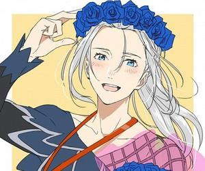 yuri on ice, anime, and viktor nikiforov image