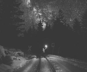 boy, night, and pattern image