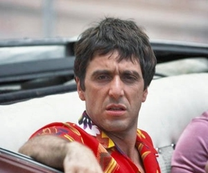 al pacino, movie, and scarface image