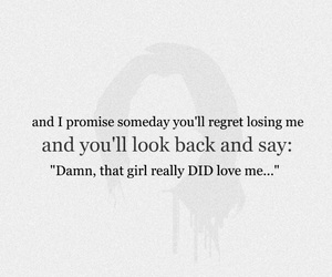 love, girl, and quote image