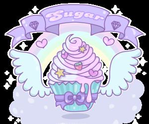 cupcake, pastel, and kawaii image