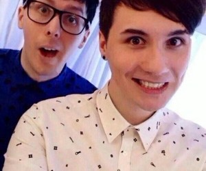 danisnotonfire, dan howell, and phil lester image