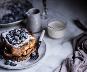 blueberry, breakfast, and earl grey image