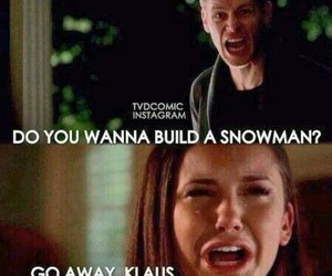 the vampire diaries, funny, and klaus image