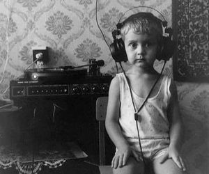music, boy, and vintage image