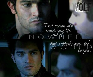 edit, quote, and teen wolf image