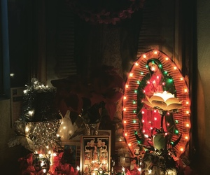 Catholic, shrine, and la virgencita image
