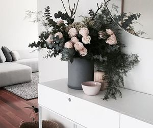 flowers, interior design, and home image
