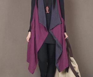 fuchsia, leisure, and vest image