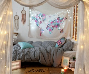 bedroom, bedroom inspiration, and room goals image