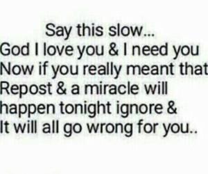 god, miracle, and repost image