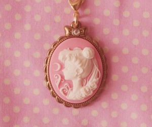 pink and sailor moon image