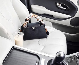 bag, black, and car image