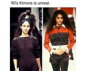 90's, fashion, and supermodel image
