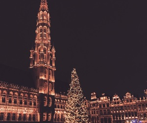 belgium, brussels, and christmas image