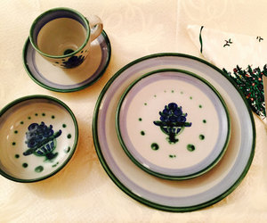 etsy, ma hadley dishes, and hadley place setting image